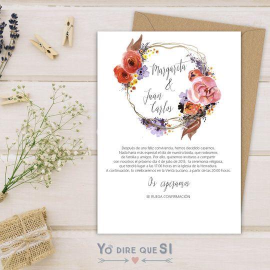 """Colección """"Corona floral"""""""