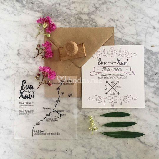 Conjunto de boda personalizado
