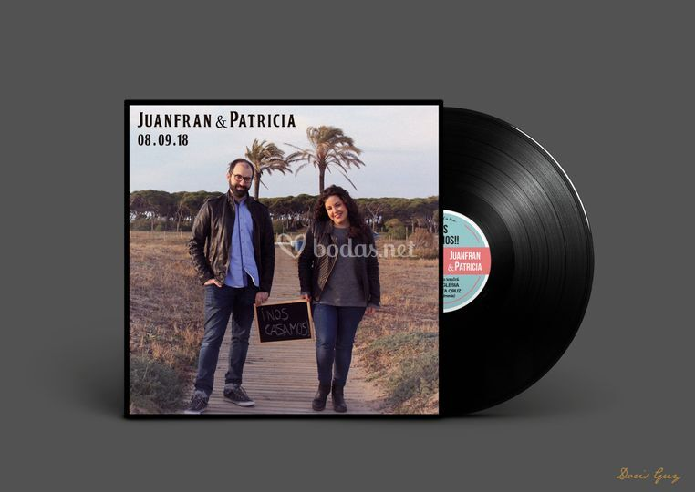 Invitación Patricia & Juanfran