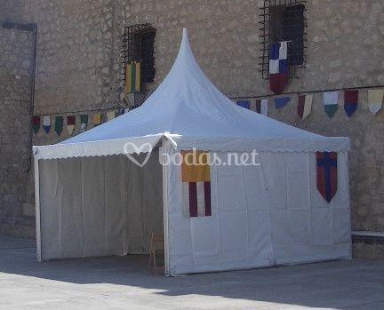 Jaimas para bodas medievales