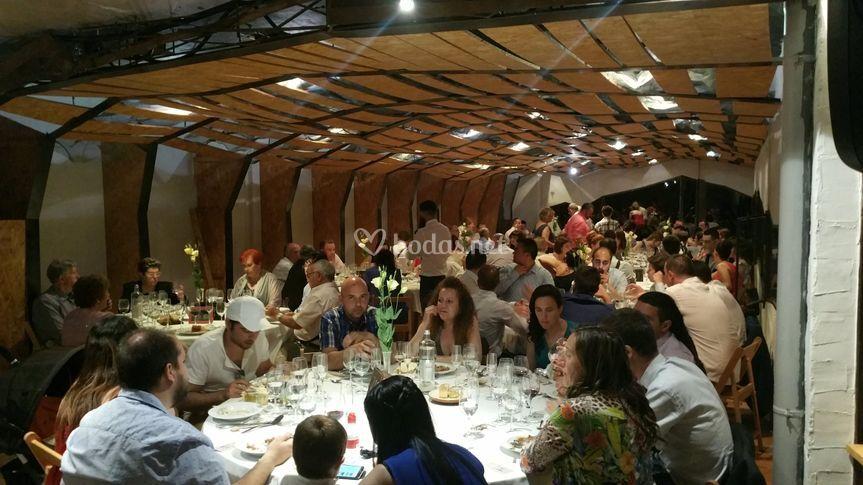 Boda de Adria y Sandra, banquete