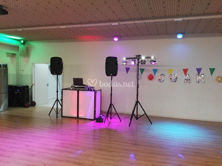 Cumpleaños salón baile