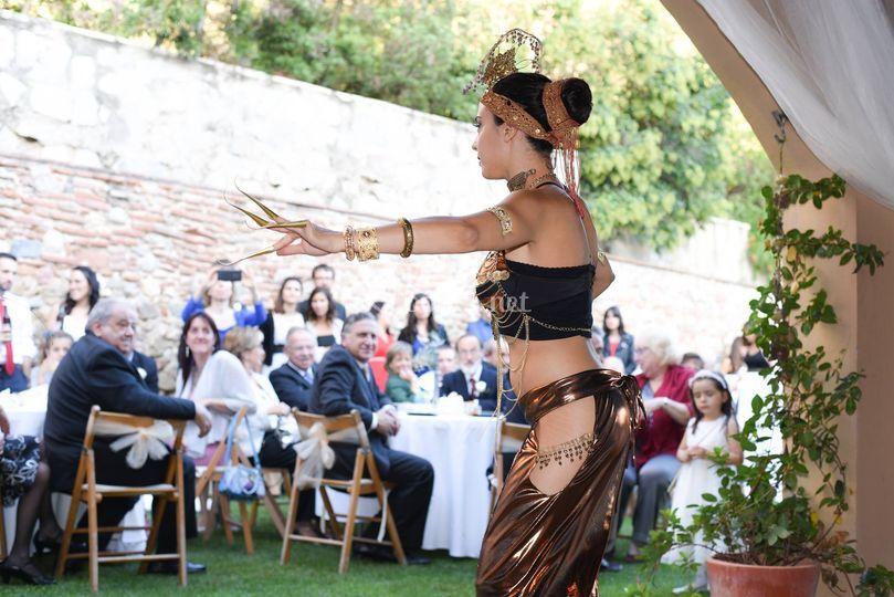 Tribal fusión (boda temática)