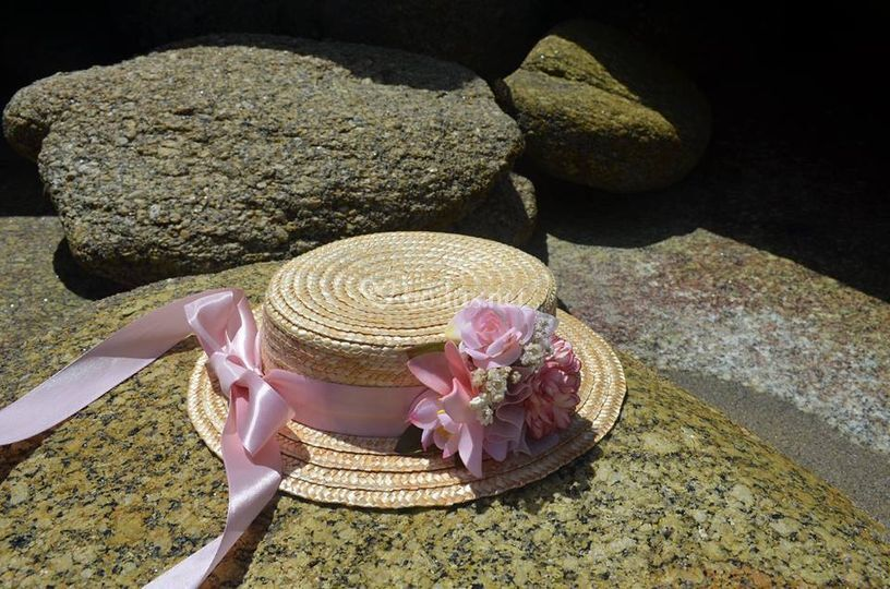 Sombrero con detalle