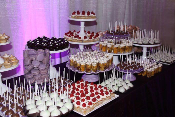 Mesa de dulces en cumpleaños
