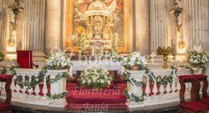 Vista del altar