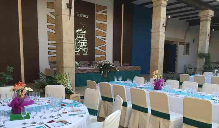 Mesas del banquete