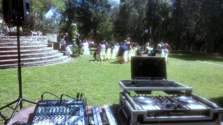 Ceremonia en Mas Blanc