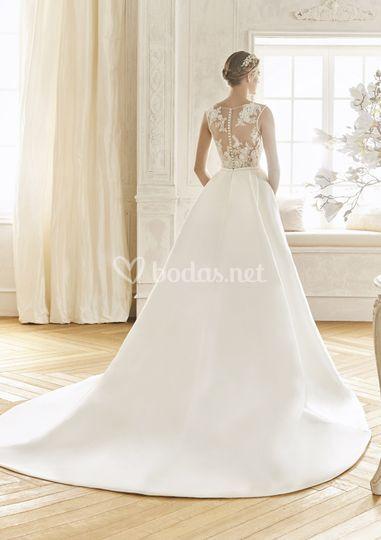 la sposa modelo baco de eva navarro novias   foto 83
