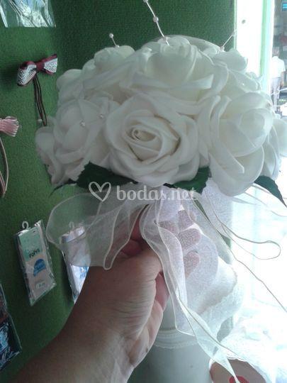 Bouquet con perlas