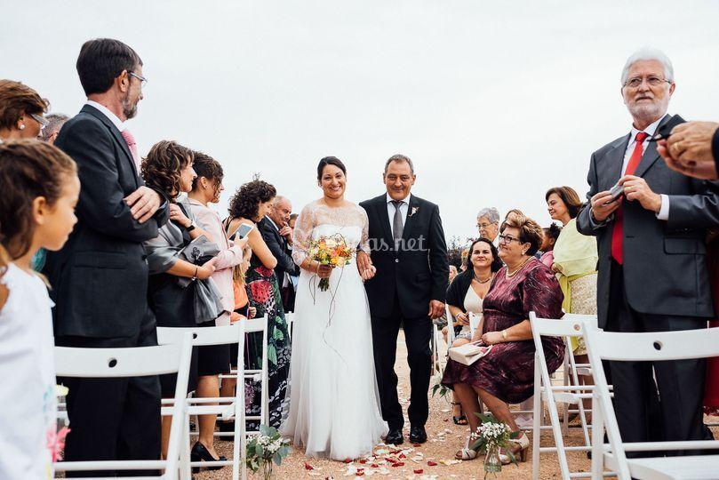 Zona boda exterior