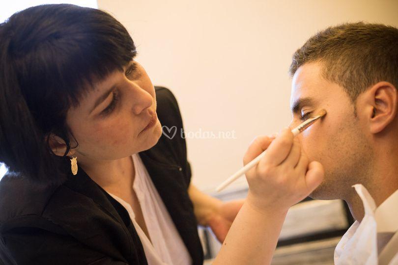 Maquillaje novio