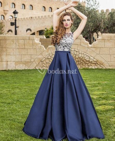 3e7d4f610 Tienda vestidos fiesta el caracol zaragoza - Vestido azul