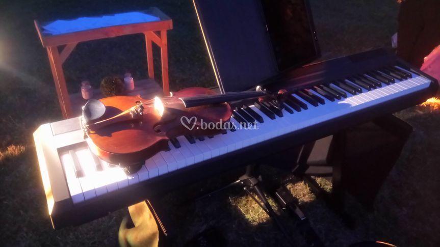 Dúo piano y violín