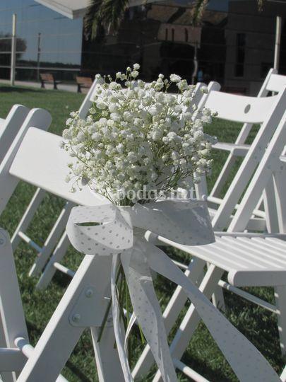 Decoración sillas