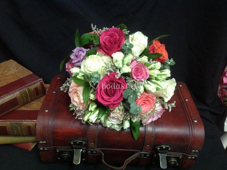 Buquet de flores variadas