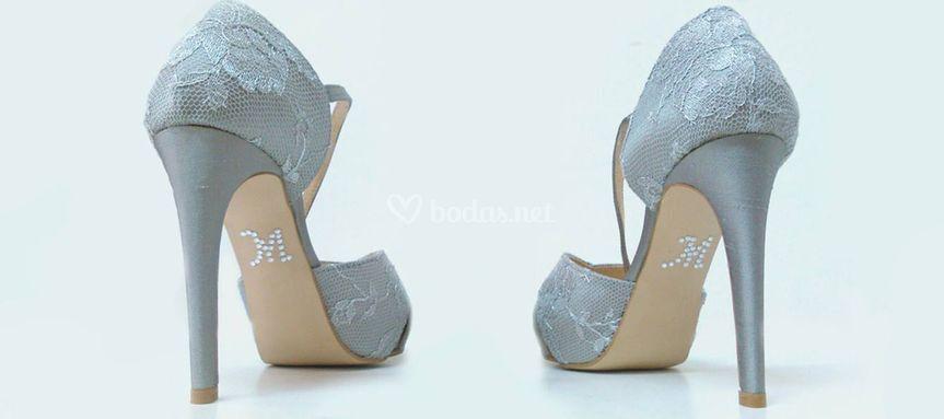 zapatos de novia con pedrería de forra tus zapatos alicante | foto 17
