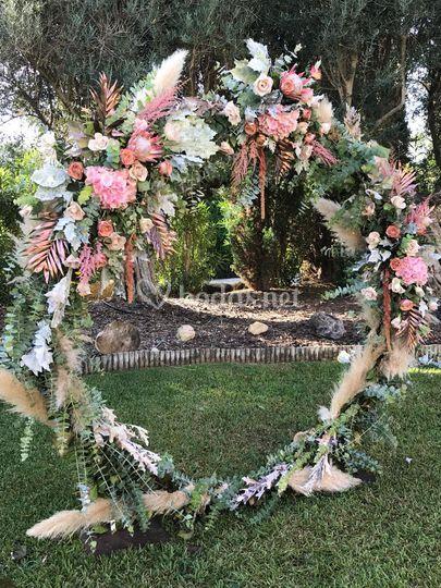 Arco boda N&J