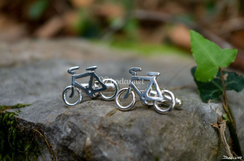 Gemelos camisa bicicleta
