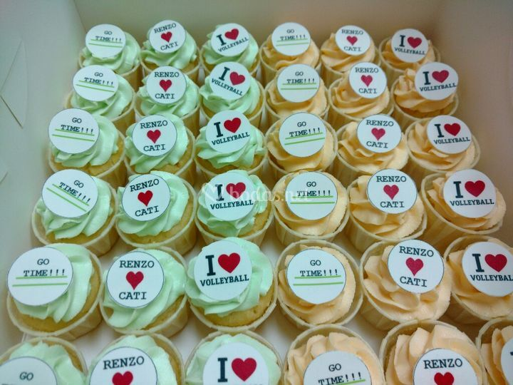 Mini cupcakes personalizados