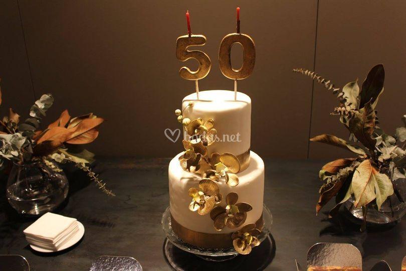 Tarta 50 aniversario