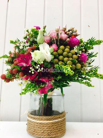 Bouquet novia silvestre