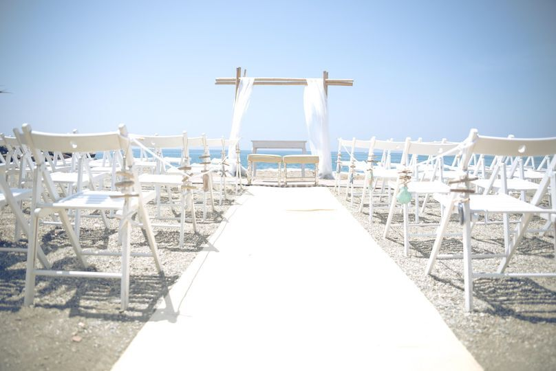 Ceremonia en la arena