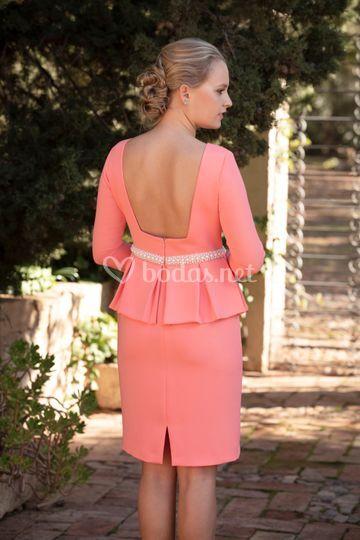 Vestido praga (coral)