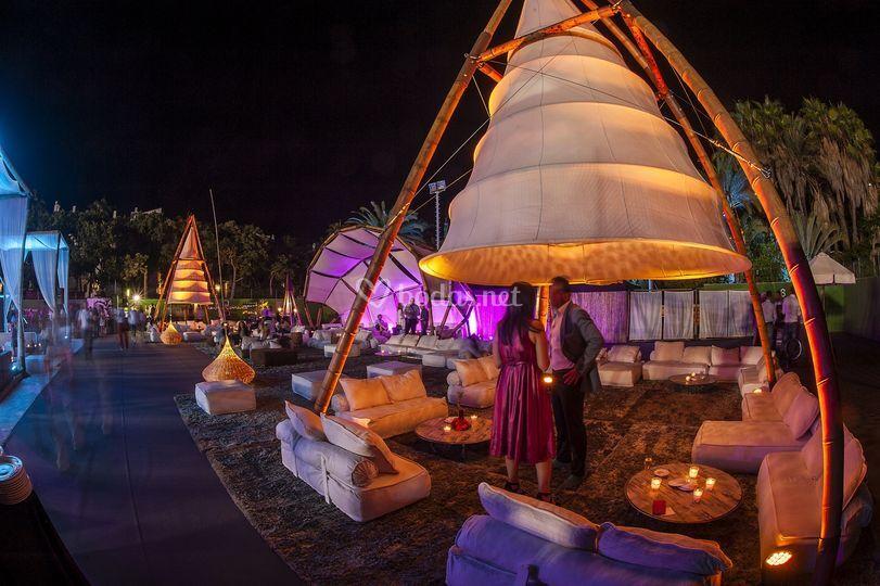 Mobiliario para bodas 2019