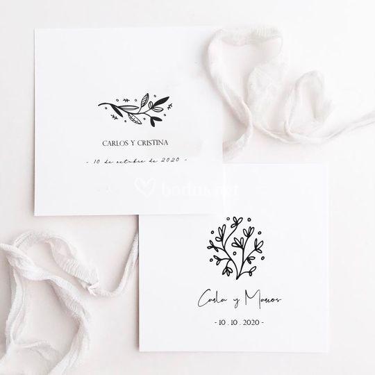 Logos de boda