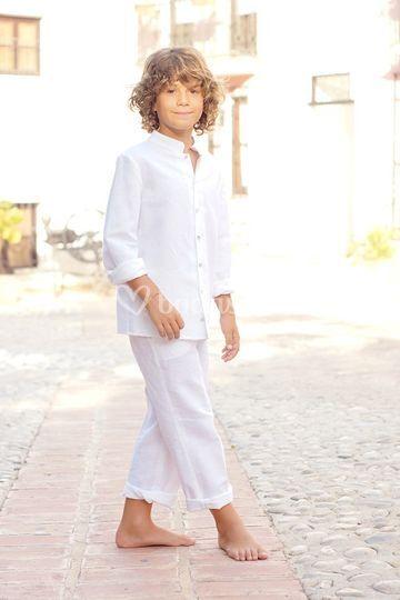 Conjunto niño Quemono