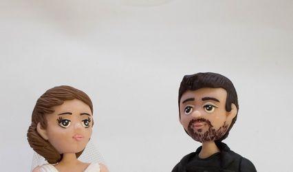 Artesanía con H - Figuras para la tarta