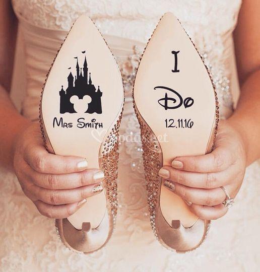 Vinilo zapato novia✨ 👰🏼👰🏻