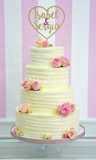 Tarta de boda layer cake
