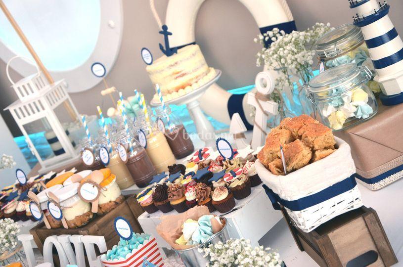 Mesa dulce boda en l'Estibador