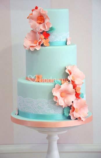 Tarta decorada