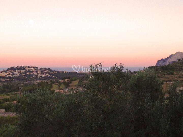 Vistas desde La Chata