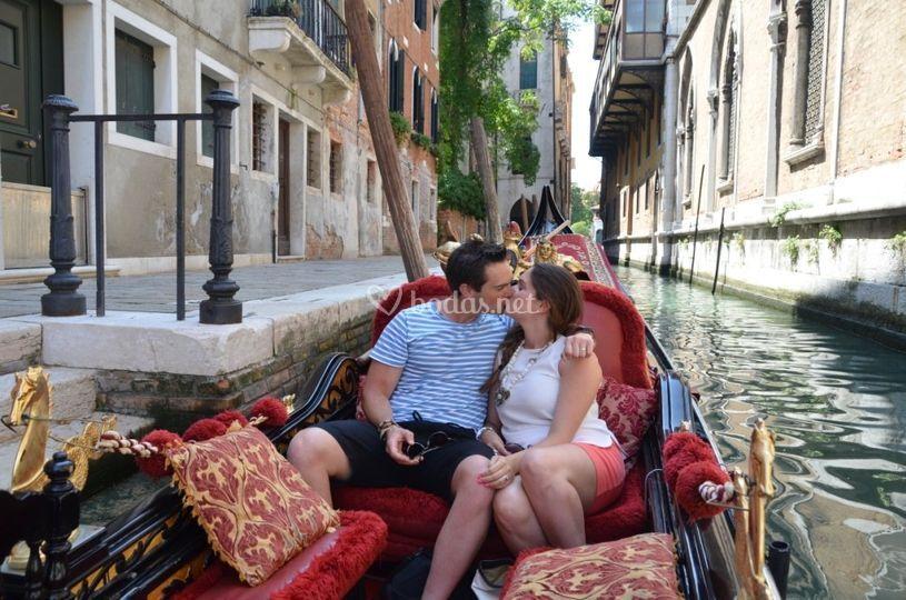 Romántica en Venecia