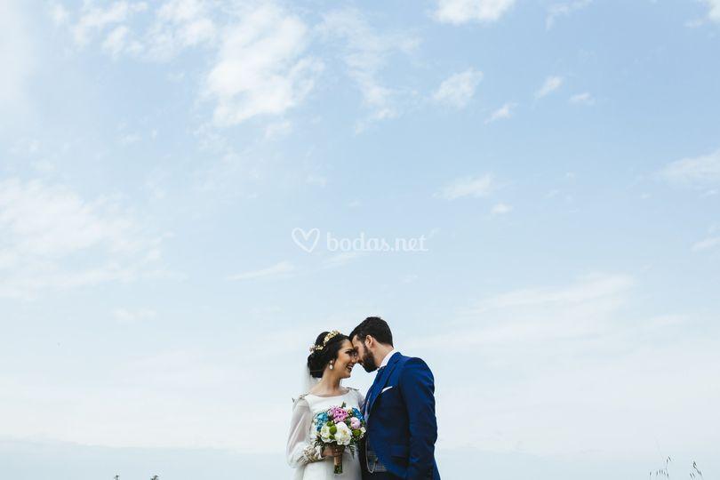 Exteriores el día de la boda