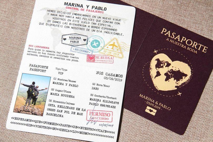 Ref. 0149 - Pasaporte