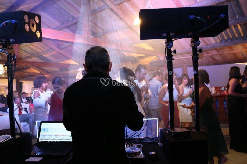Baile e iluminación
