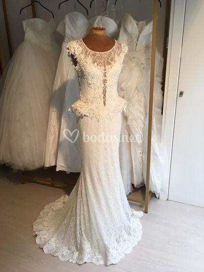 Vestido de novia Malena