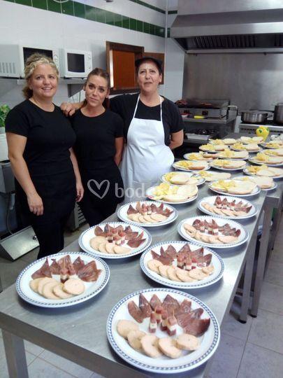 Gran equipo de cocinaf