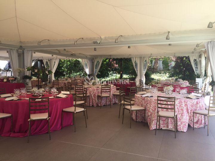 Banquete Al Aire Libre De Nh Ventas