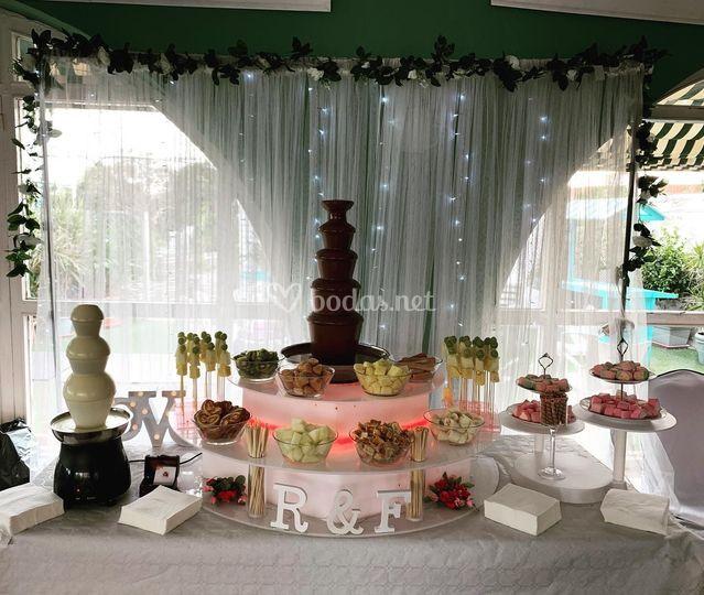 Fuente de boda