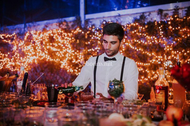 Coctelería y gin tonics