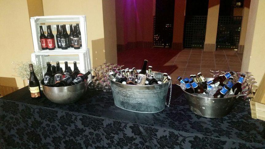 Buffet de cerveza