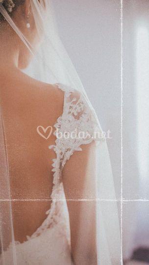 Detalle novia