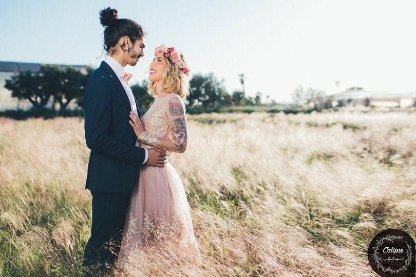 Vestidos de novia indie