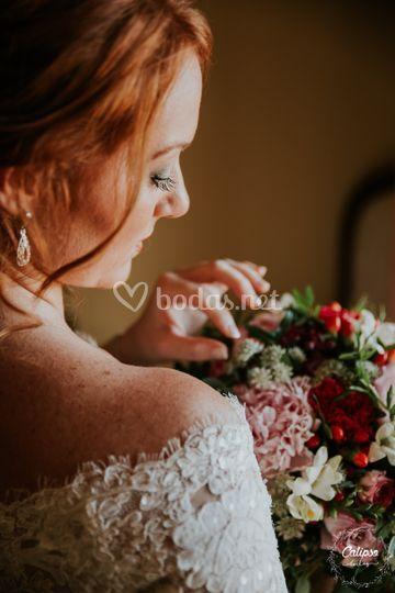Bárbara, la novia pelirroja